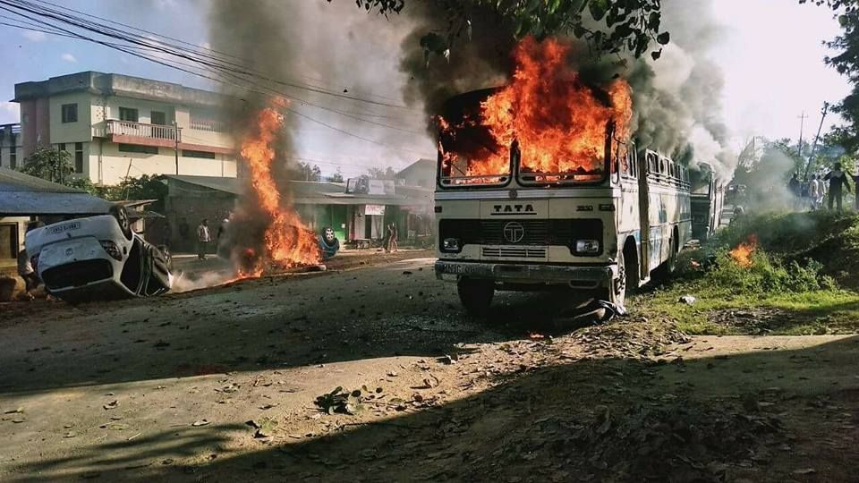 Manipur burns in hell - This is how it started! - IITian Me