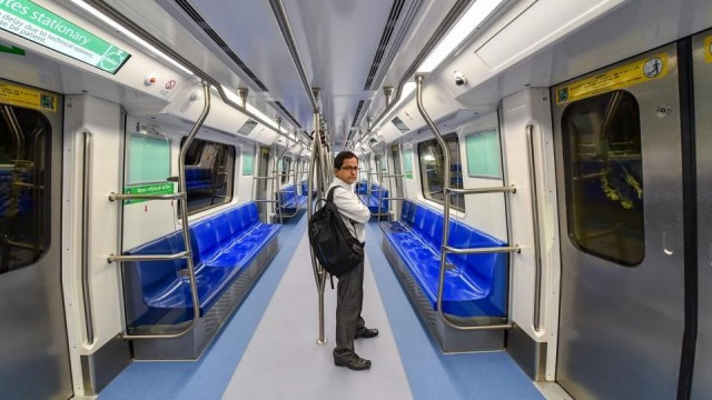 Taking Delhi Metro from East Delhi to South Delhi is a very BAD IDEA